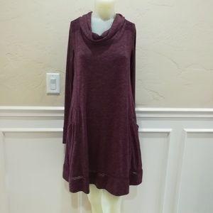 Saturday/Sunday purple lace dress
